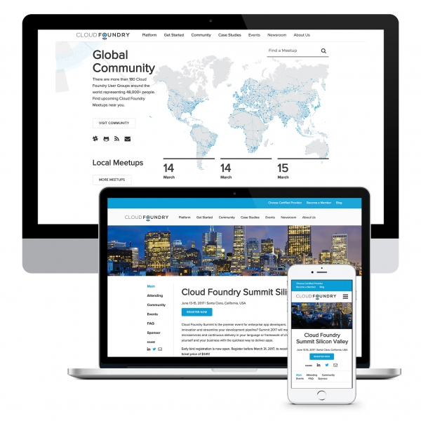 Cloud Foundry Website